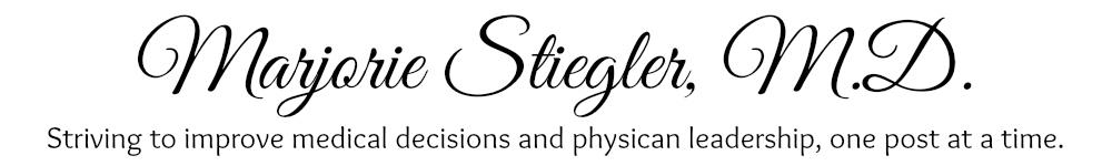 Marjorie Podraza Stiegler, M.D.